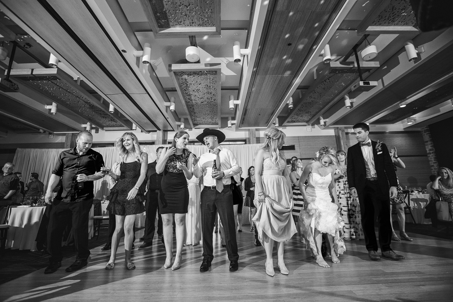 line dancing calgary zoo summer wedding