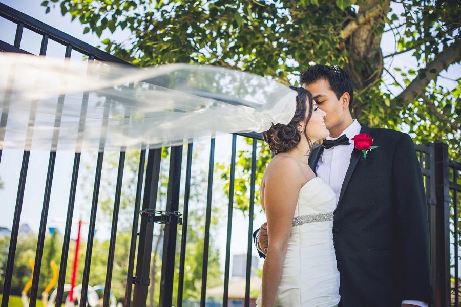 bride cathedral veil calgary international wedding