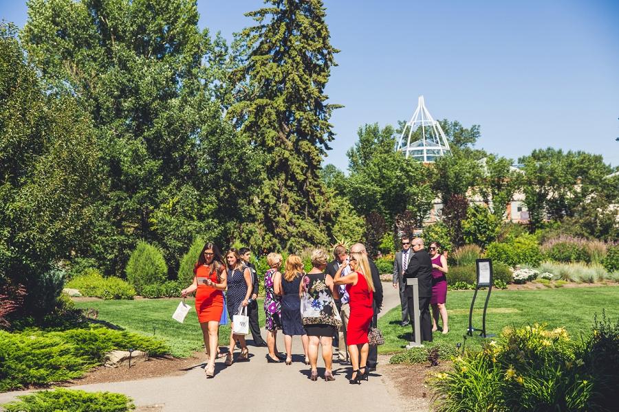 calgary zoo international wedding guests