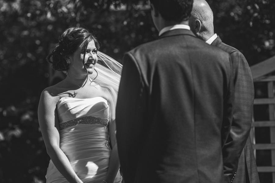 international wedding calgary zoo bride black and white