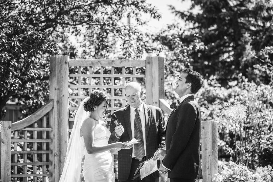 bride funny vows international wedding calgary zoo