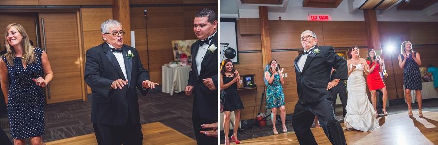 guests dancing calgary zoo wedding