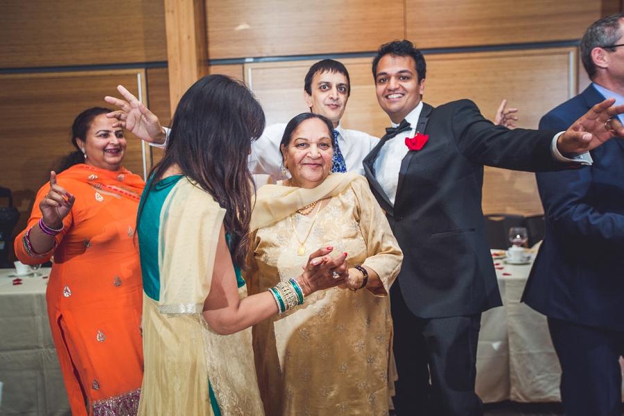 grandma dancing calgary zoo wedding