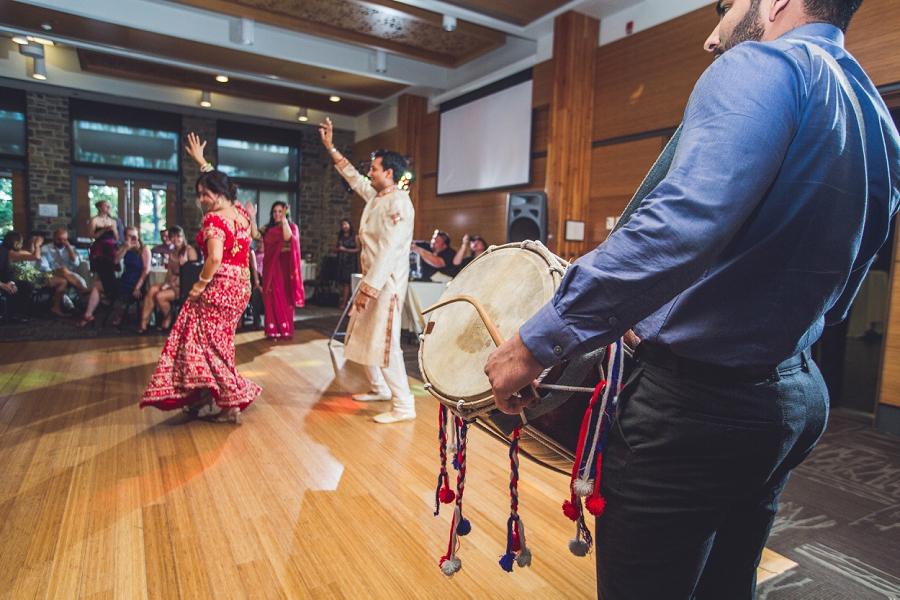 indian drummer calgary zoo wedding