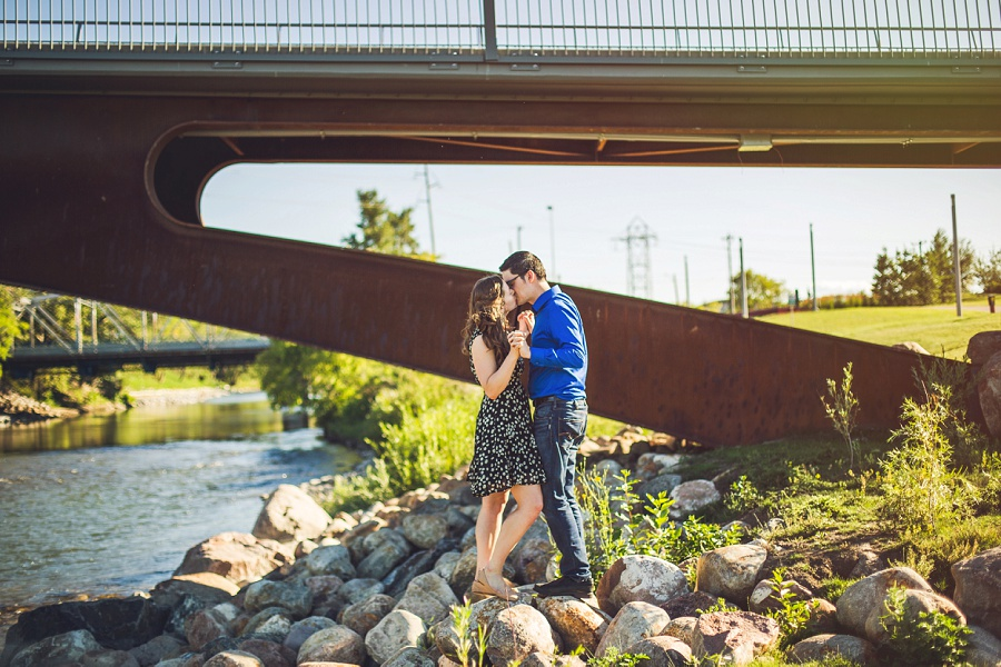 Veronica + Peter | Summer Calgary Engagement Photos