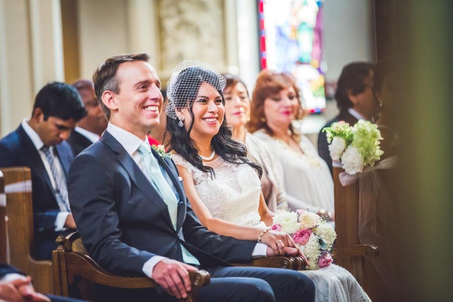 sacred heart church calgary wedding bride groom ceremony