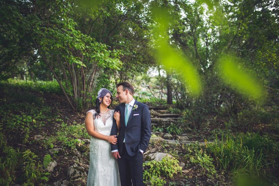 groom teal tie bride sequin wedding dress reader rock gardens calgary