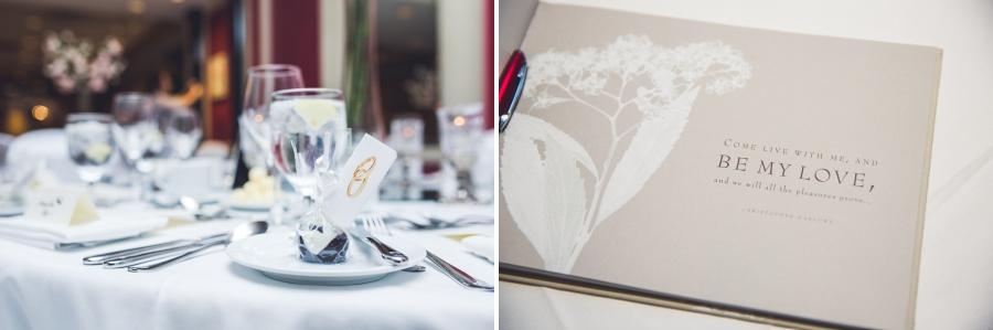 fairmont palliser calgary wedding reception groom cake pop reception guestbook