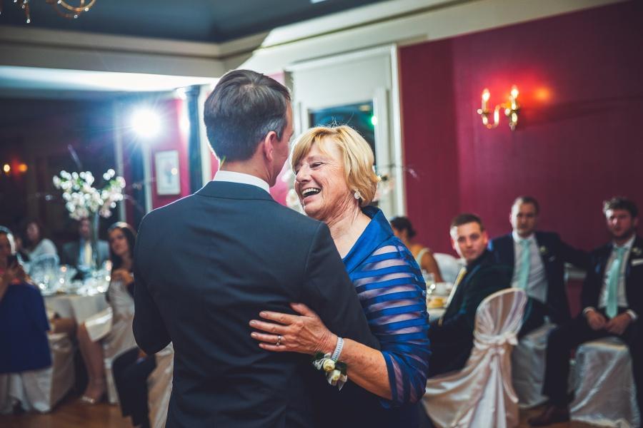 fairmont palliser calgary wedding reception groom mother first dance