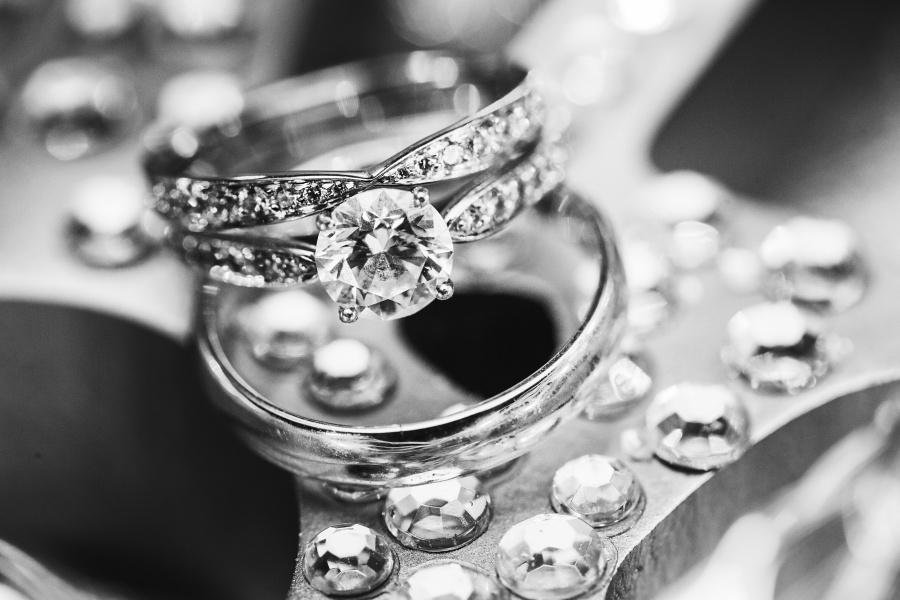 bride groom wedding bands engagement ring calgary wedding photography