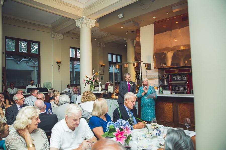 parents of bride speeches Teatro Restaurant Calgary Wedding