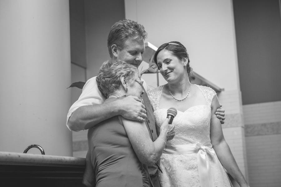 Teatro Restaurant Calgary Wedding mother of groom speech