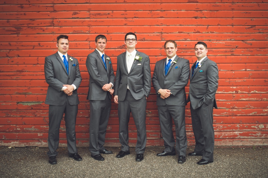 fish creek park red barn calgary latin wedding photographer groom groomsmen