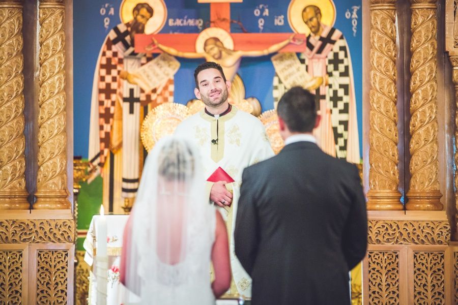 St. Demetrios Greek Orthodox Church calgary wedding pastor