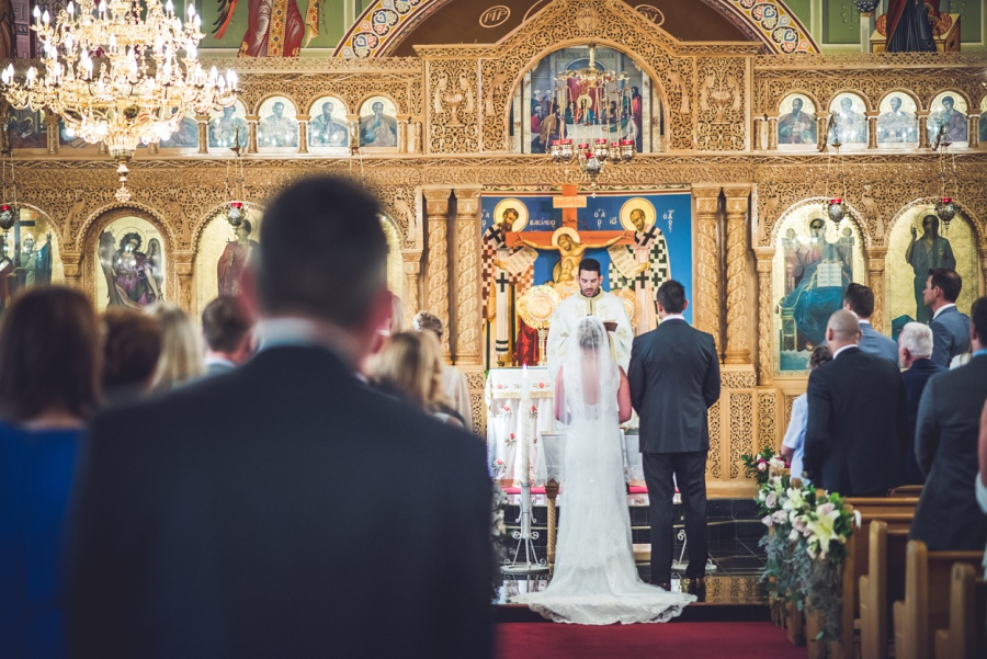 St. Demetrios Greek Orthodox Church calgary bride groom ceremony