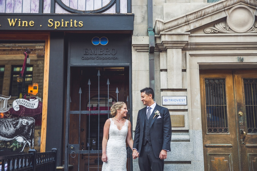 calgary wedding photographer stephen ave embro wine spirits