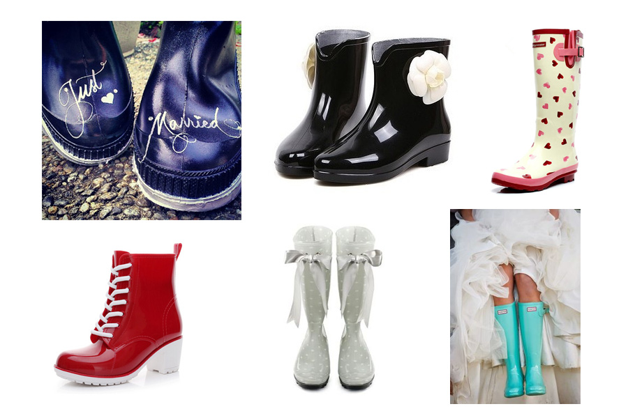 cute wedding rain boots calgary