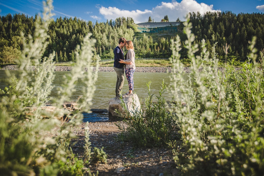 Rachael + Robert | Calgary Summer Engagement Photos