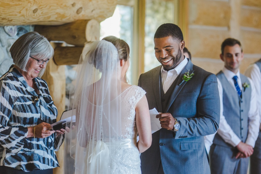 cochrane ranchehouse wedding calgary groom personal vows