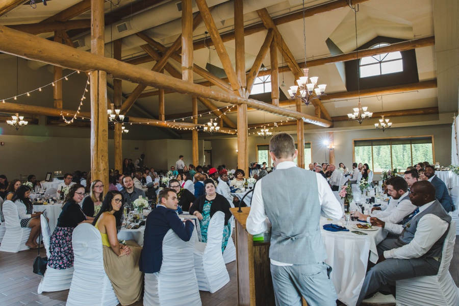 cochrane ranchehouse wedding calgary groomsmen speeches