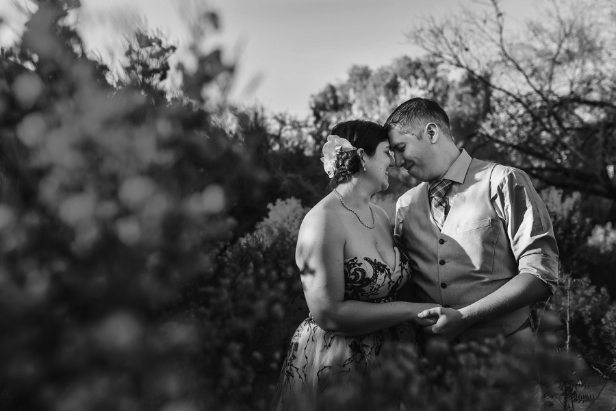 las vegas elopement university of nevada bride and groom