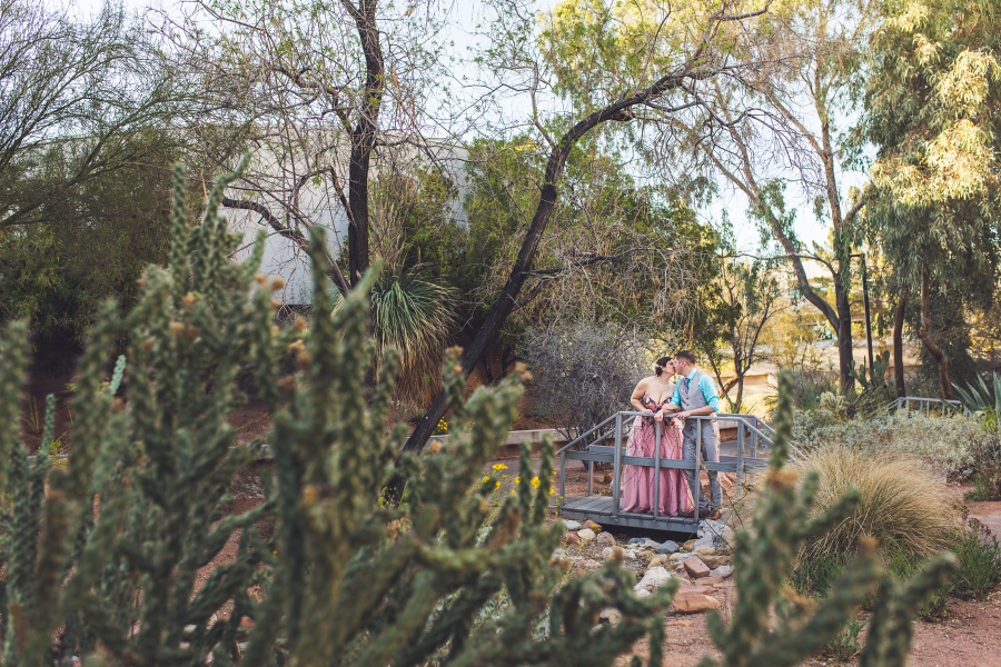 las vegas elopement university of nevada cactus