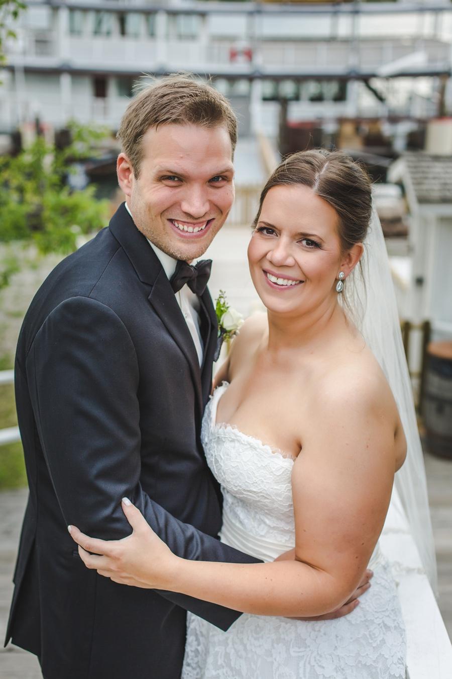 bride groom smile geeky heritage park wedding calgary