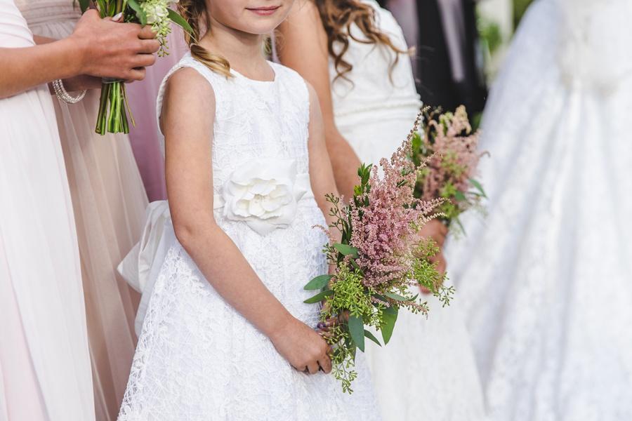 geeky heritage park wedding calgary junior bridesmaids