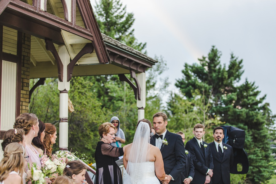 groom vows prince house wedding geeky heritage park wedding calgary