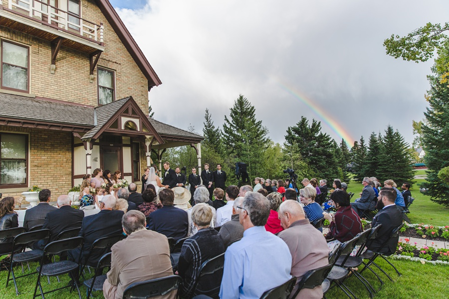 wedding rainbow prince house wedding geeky heritage park wedding calgary