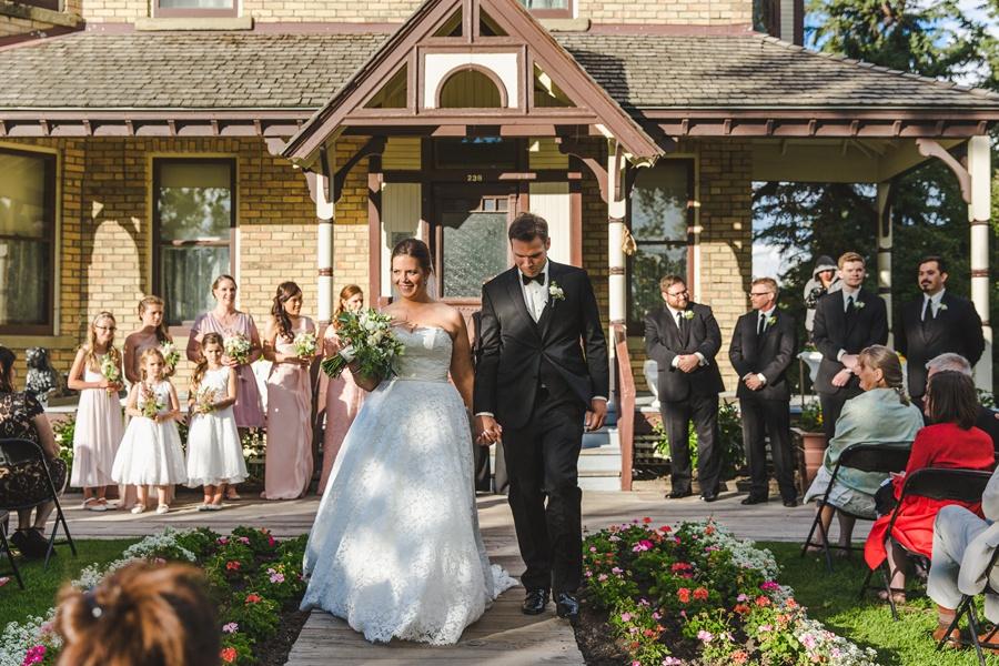 bride groom geeky heritage park wedding calgary prince house
