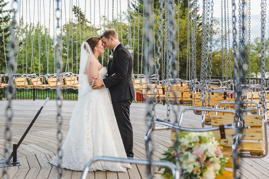 swing of the century geeky heritage park wedding calgary