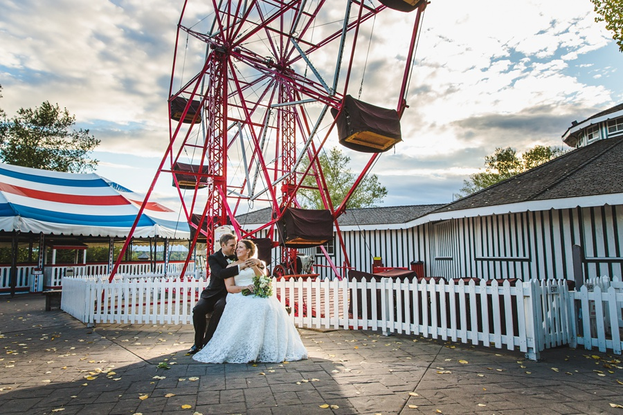 midway geeky heritage park wedding calgary
