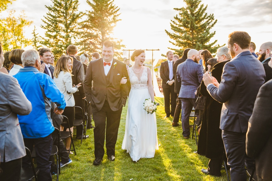 Lindsay + Dave | Sunset Heritage Park Wedding