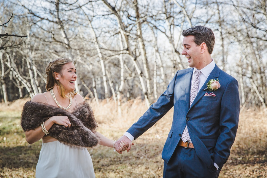 calgary wedding photographers bride groom cry first look