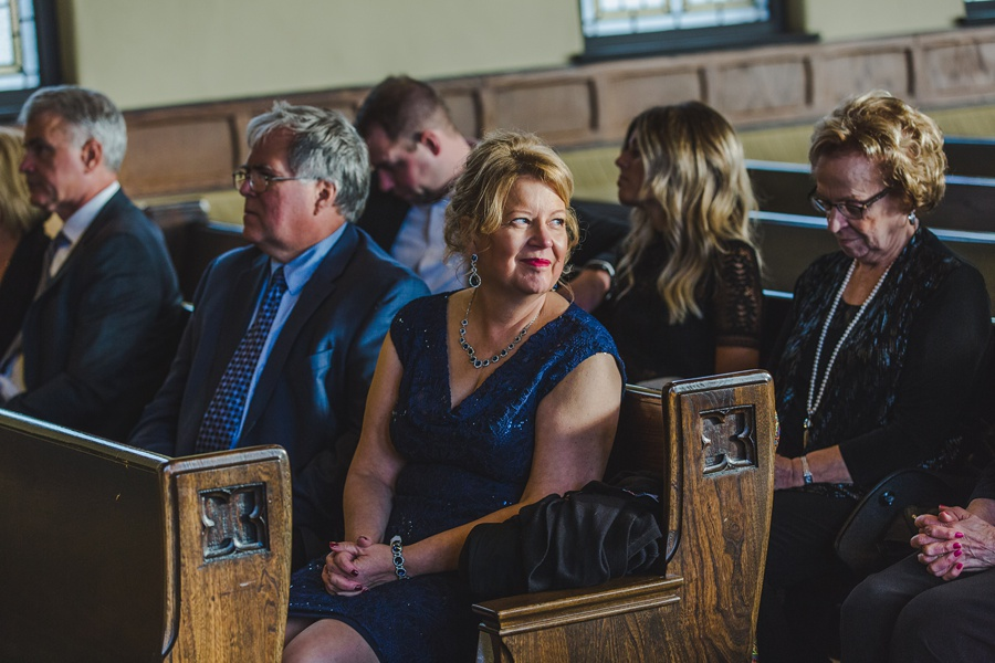 calgary wedding photographers mother of bride church St Joseph Catholic Church