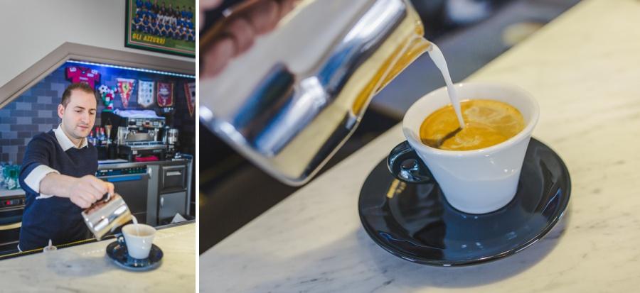 calgary azzurri pizzeria restaurant coffee latte espresso