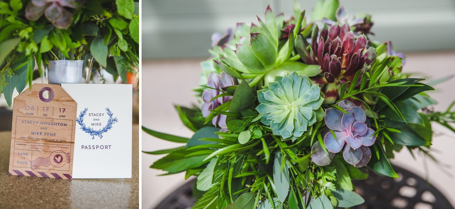 stacey mike burrowing owl estate winery wedding succulents details