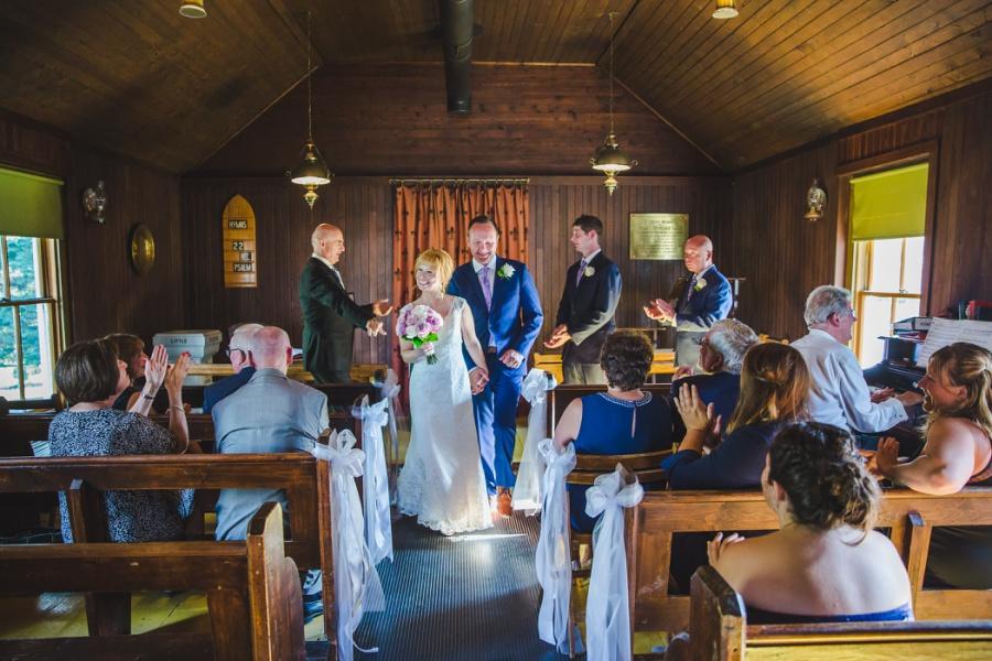 st. martin's church heritage park wedding calgary bride groom ceremony