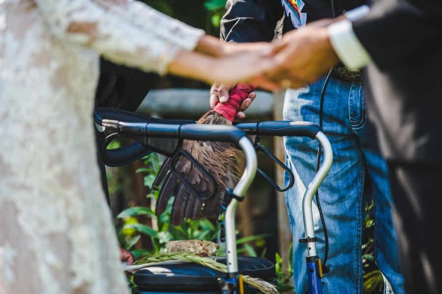first nations wedding calgary anna michalska photography reader rock garden
