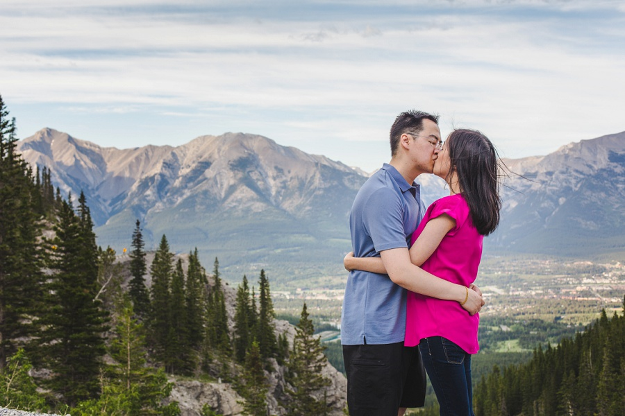 canmore emerald lake mountains engagement photos riders of rohan