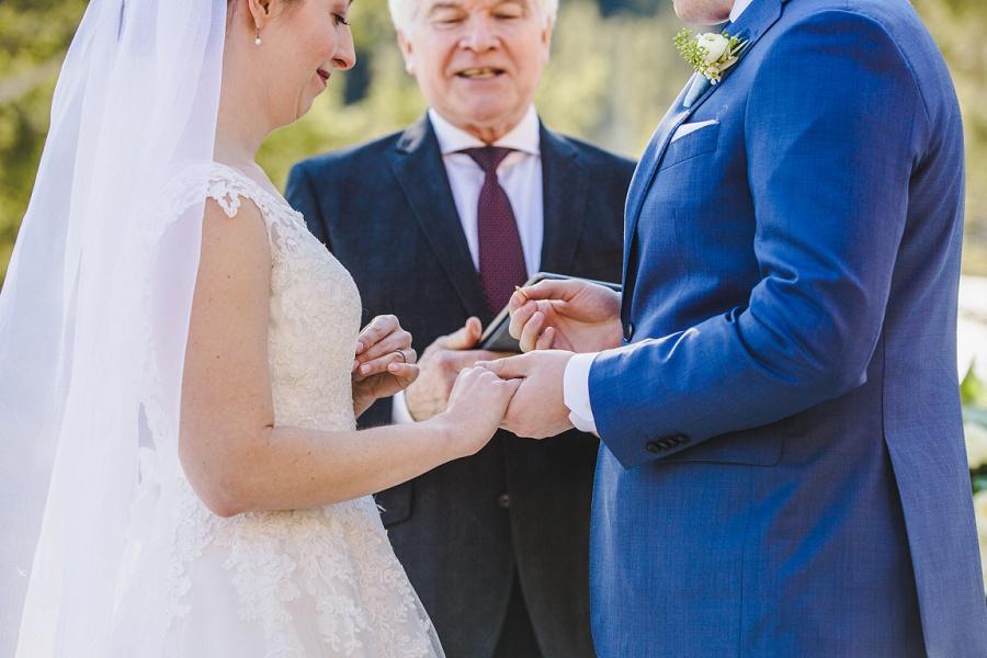 calgary winter wedding stewart creek golf club canmore