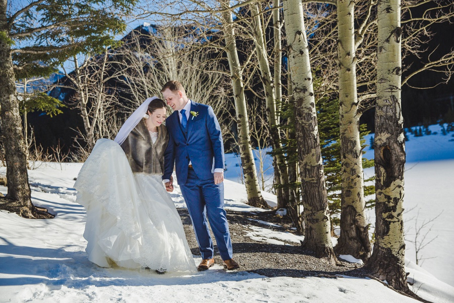 Alex + Darrel | Stewart Creek Golf Club Canmore Wedding