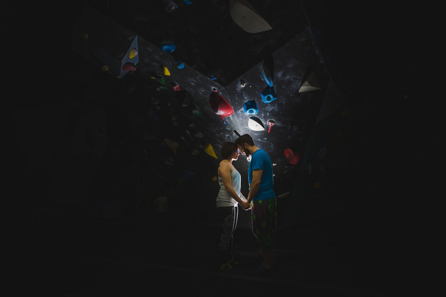 Heather + Dustin | Bolder Climbing and Bowmont Park Engagement Session